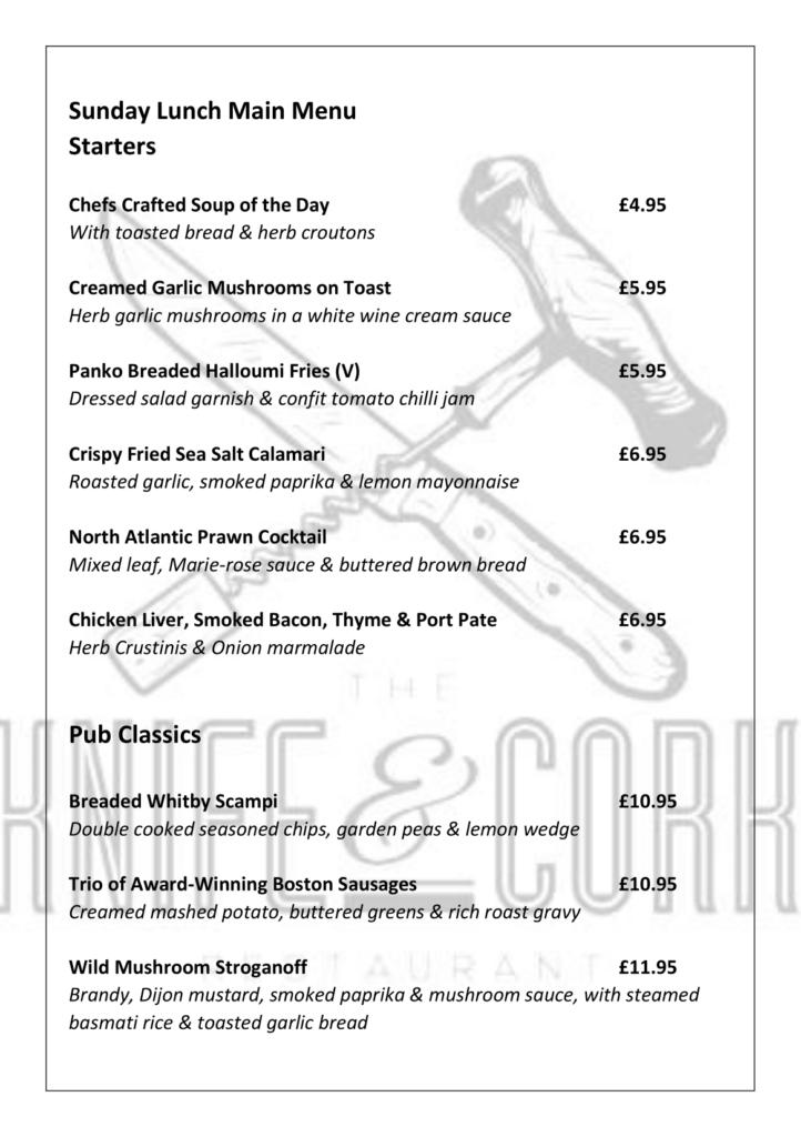 Royal Oak Lunch Menu Feb 21 Page 2